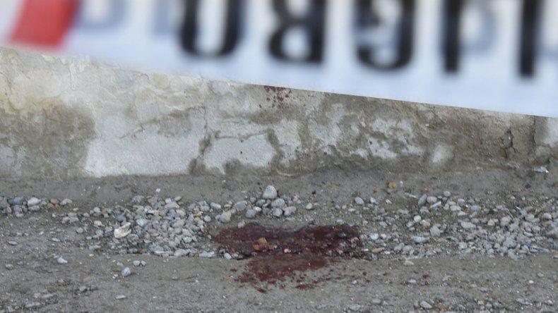 La zona de Jazmines y Huergo donde Miguel Miranda fue atacado por un grupo en la madrugada del 16 de julio.