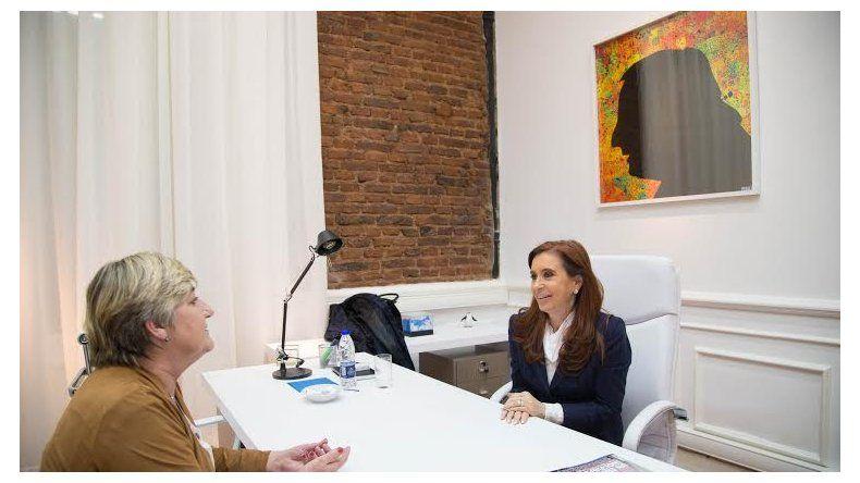 Cristina se mostró muy preocupada por la situación económica y social que vive Chubut