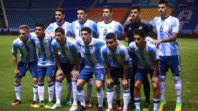 El equipo argentino que disputó el último amistoso frente a México.