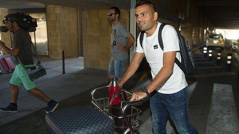 Gabriel Mercado llegó a España para sumarse al Sevilla