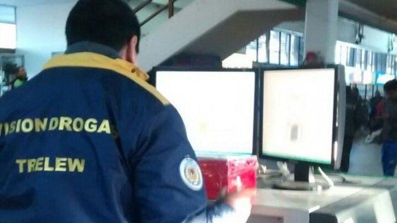 Secuestraron una caja sospechosa que iba hacia Comodoro
