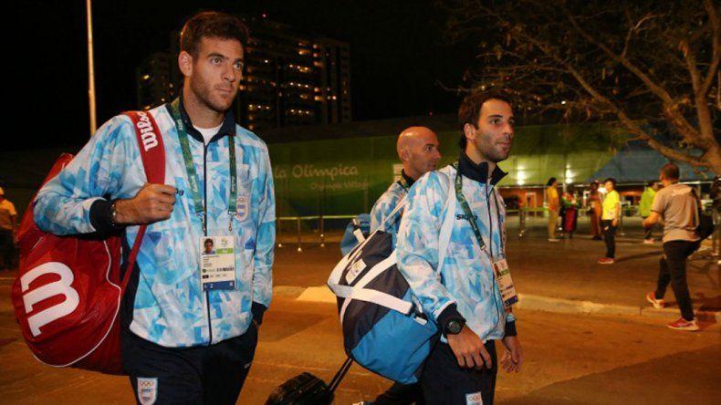 Juan Martín del Potro tendrá un duro debut en los Juegos Olímpicos.