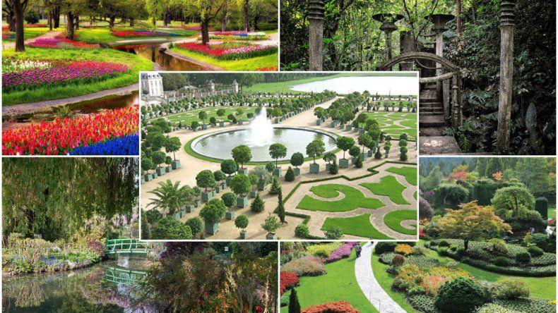 Los jardines mas lindos  del mundo