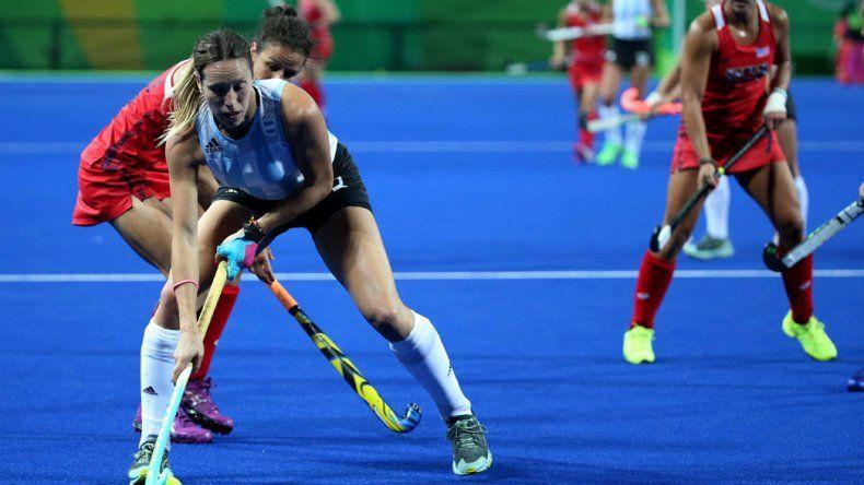 La selección argentina femenina de hóckey sobre césped viene de perder 2-1 frente a los Estados Unidos.