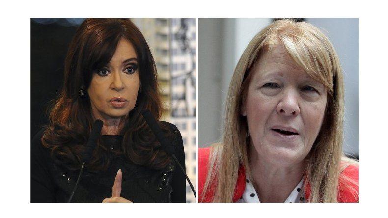 Cristina quiere llevar a juicio a Stolbizer