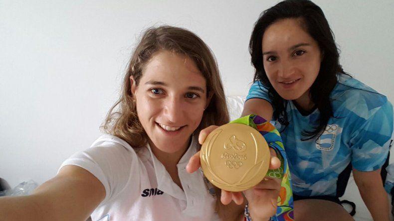 Paula Pareto y Oritia González