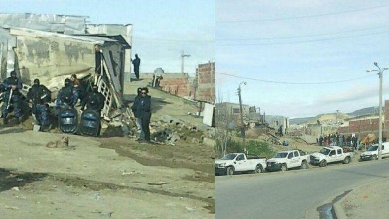 Demolieron el aguantadero de Los Nieves en el barrio Quirno Costa