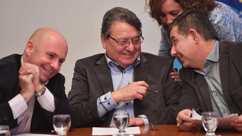 Pagani valoró las reuniones para acordar las obras financiadas con fondos del bono