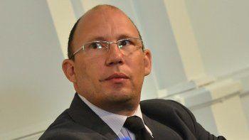 Fernando Menchi, ministro de Educación de Chubut.