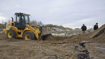 Vialidad Nacional comenzó a trabajar en la Ruta 3 a la altura de Kilómetro 14 para rehabilitar el nuevo tramo de la traza.