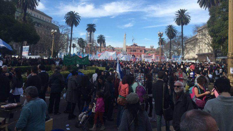Bonafini llamó a retomar las marchas de la resistencia