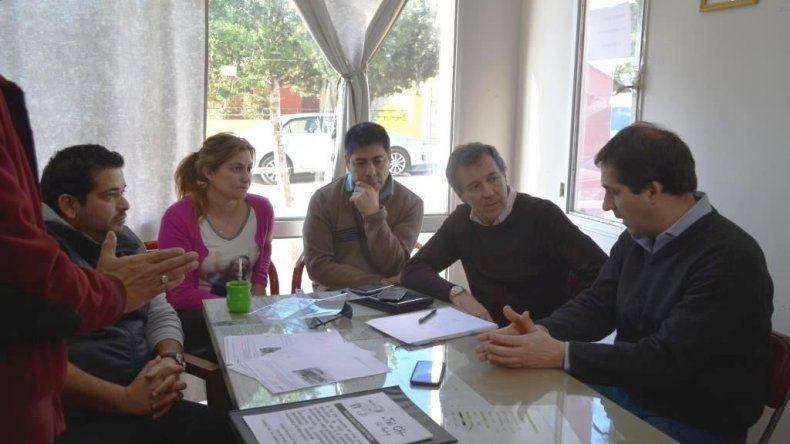 Invertirán en obra pública y seguridad en el barrio Saavedra