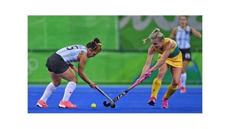 Las chicas argentinas quedaron muy complicadas de cara a la clasificación para los cuartos de final en el hóckey.