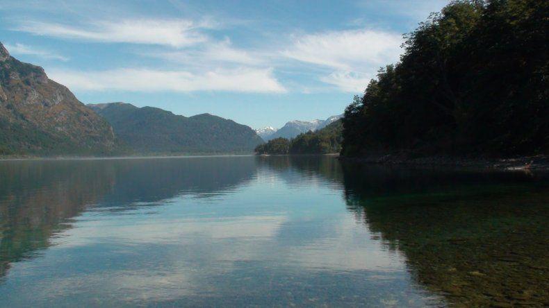 Apareció el cuerpo de un joven en el Lago Futalaufquen