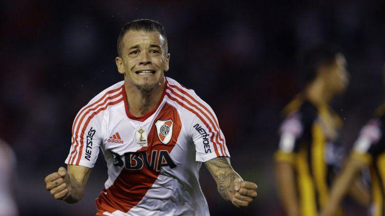 Andrés DAlessandro quiere ganar con River la Recopa Sudamericana.