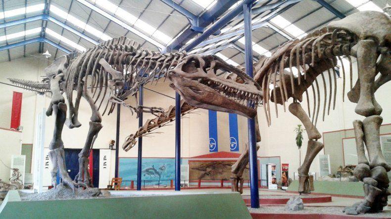 Dinosaurios en Neuquén: un paseo en familia