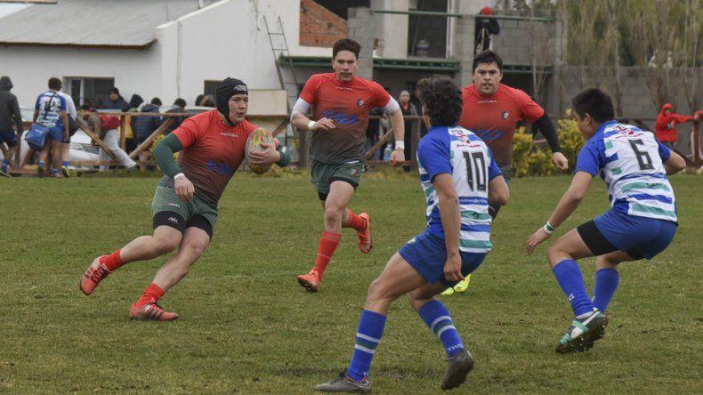 El Deportivo Portugués no pudo en su debut en el torneo Regional Patagónico de Clubes ante Trelew RC con quien cayó por 15-6.