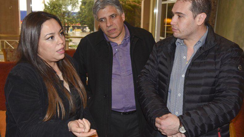 Carola Pedraza se reunió ayer con diputados que acompañan su causa. No podemos vivir de esa manera