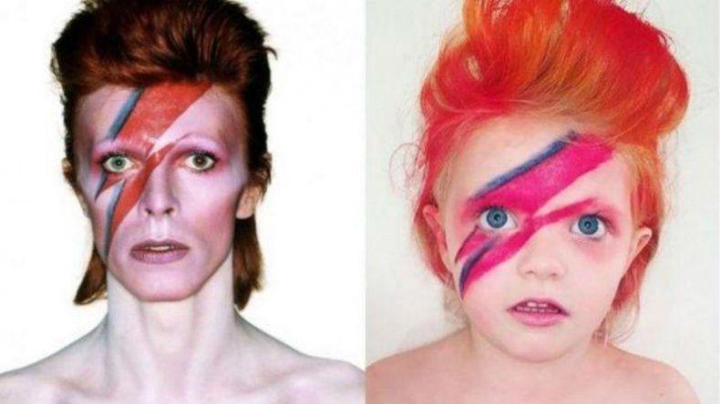 Una nena de 5 años recrea fotos de famosos y arrasa en Instagram