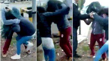 Dos alumnas se trenzaron a golpes mientras familiares alentaban la pelea