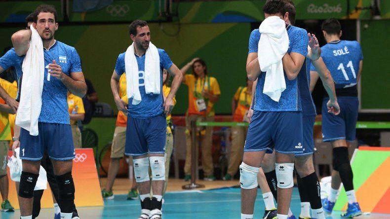 La selección argentina de vóleibol masculino se despidió en cuartos de final con la sensación de que podía avanzar más en Río.