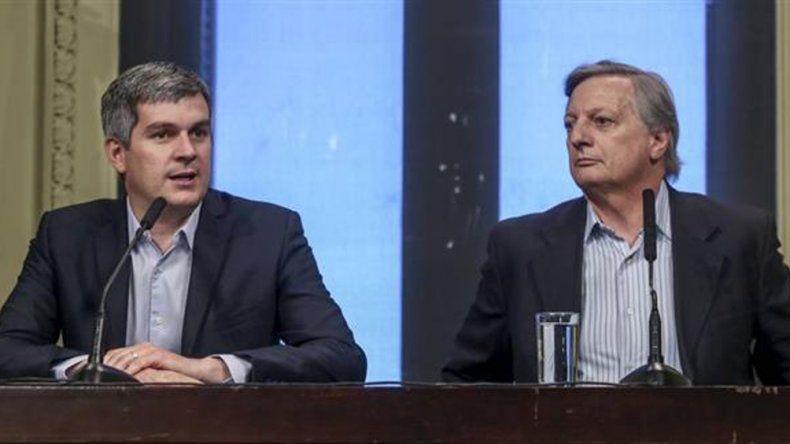 Peña y Aranguren precisaron los pasos que seguirá el Ejecutivo luego del fallo de la Corte.