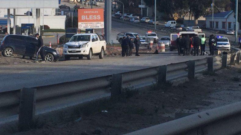 Un hombre de 66 años fue atropellado cuando intentaba cruzar Ruta 3