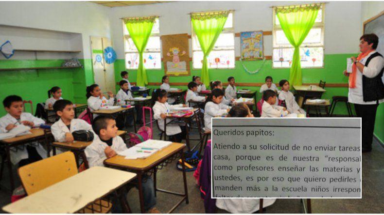 Queridos papitos: la dura respuesta de los maestros ante el reclamo de los padres