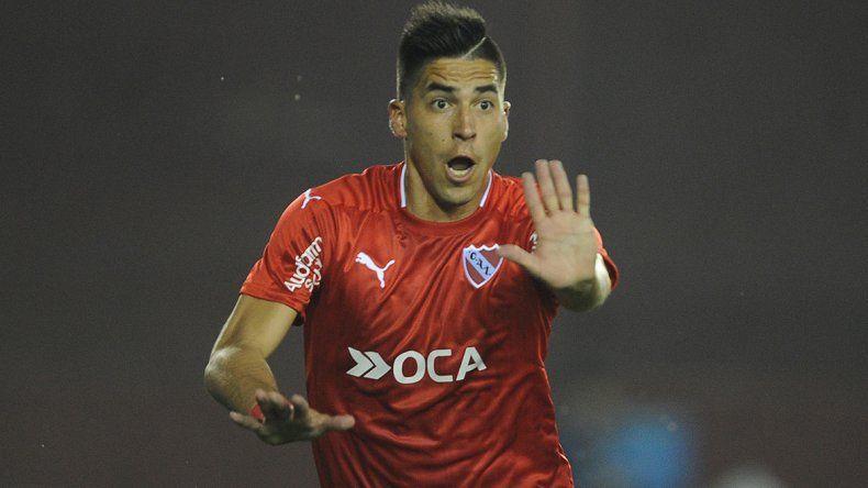 Leandro Fernández festeja su gol