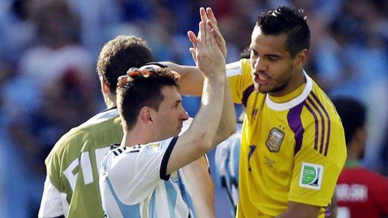 Romero sobre la selección: es mentira que juegan los amigos de Messi