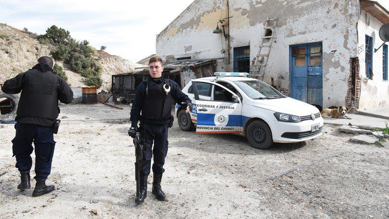 La Policía dejó una custodia en el sitio donde se habría producido el abuso.