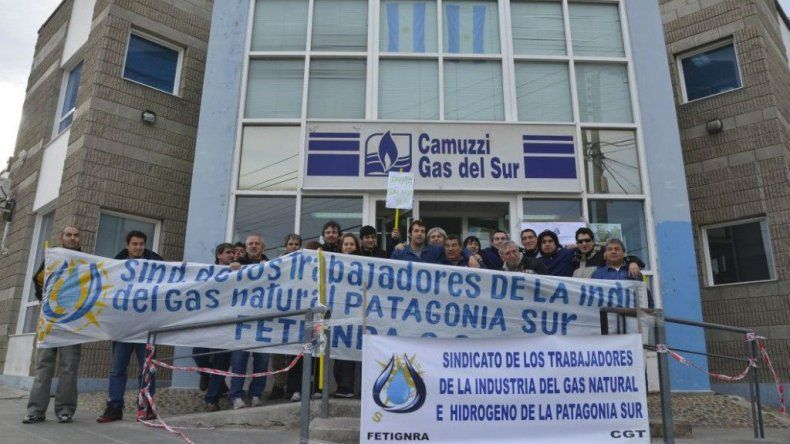 Trabajadores de Camuzzi paran por 24 horas