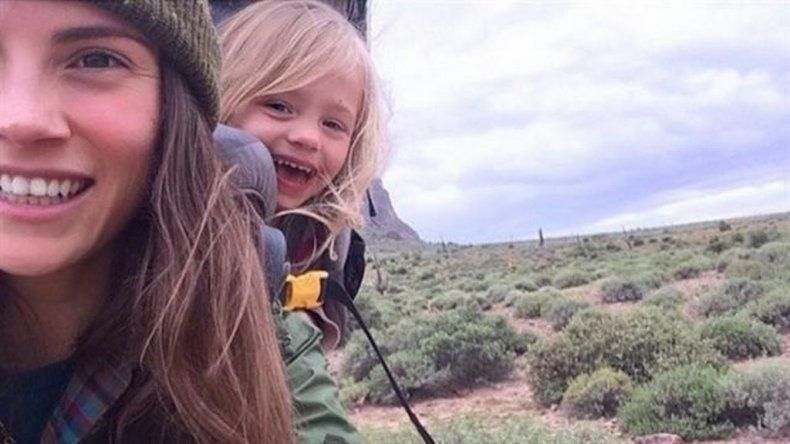 Recorre el mundo con su hija de 3 años