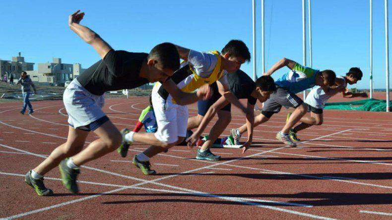 La pista de solado sintético será la sede de un doble Campeonato Provincial.