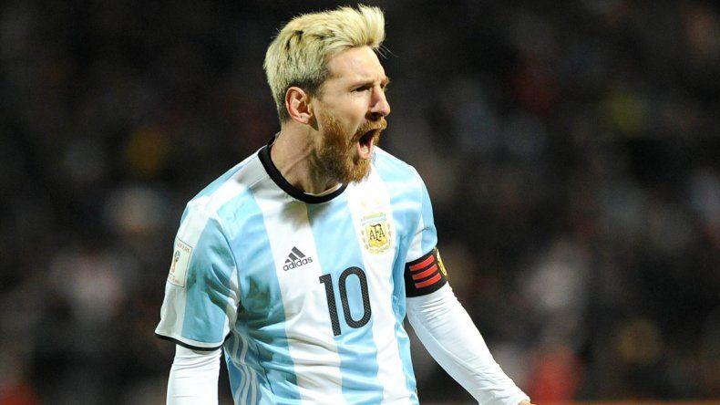 Lionel Messi fue autor del gol con el que Argentina le ganó 1-0 a Uruguay.