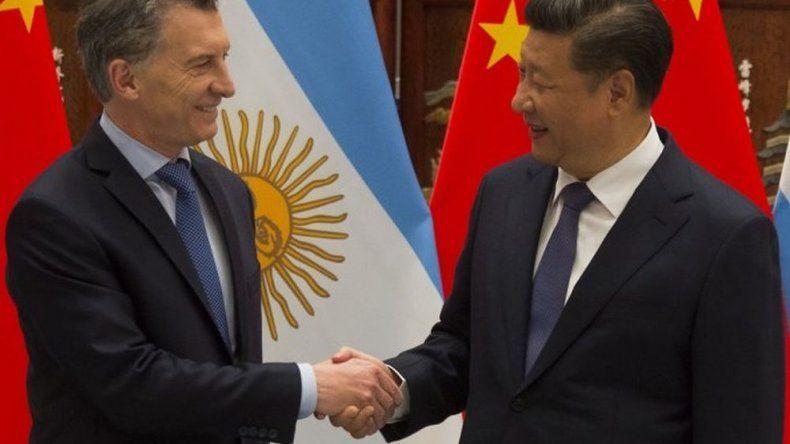 El presidente chino le pidió un Messi a Macri