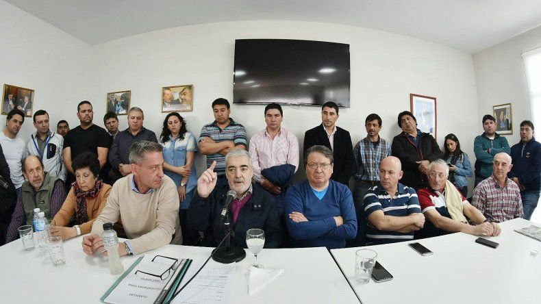 El encuentro que se desarrolló ayer en Trelew