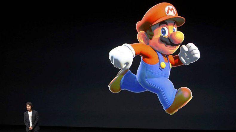 Súper Mario dispara las acciones de Nintendo