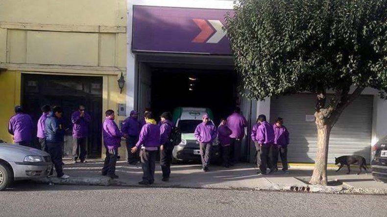 Camioneros paralizan Oca en todo el país