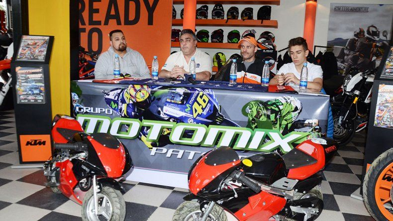 Ayer se llevó a cabo en la zona céntrica el lanzamiento oficial de la tercera fecha de las Motos de Veloccidad.