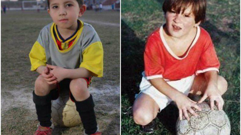 Indio Cabral tiene la misma enfermedad de Messi y sueña ser como su ídolo