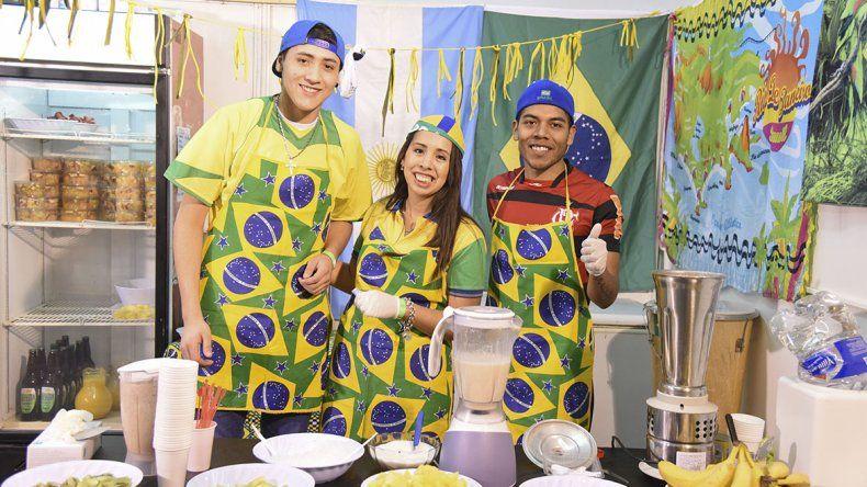 La Feria Gastronómica representa un mapamundi de sabores y música
