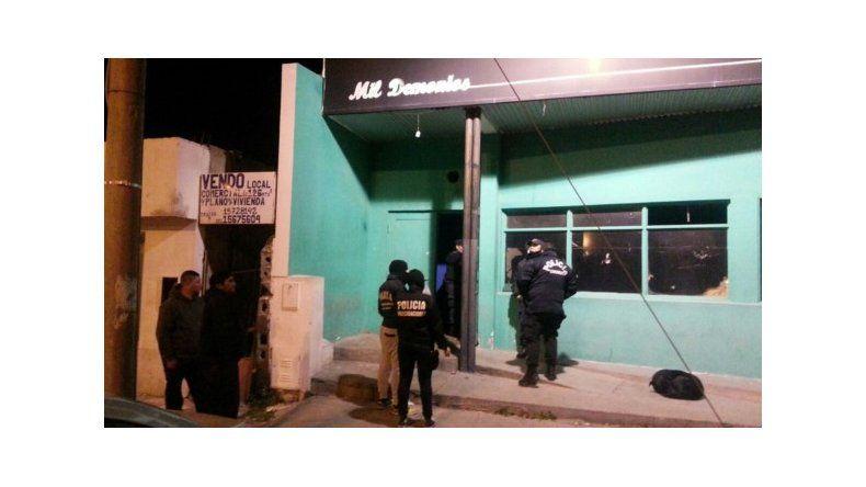 Allanamiento en boliche de Rawson por prostitución infantil