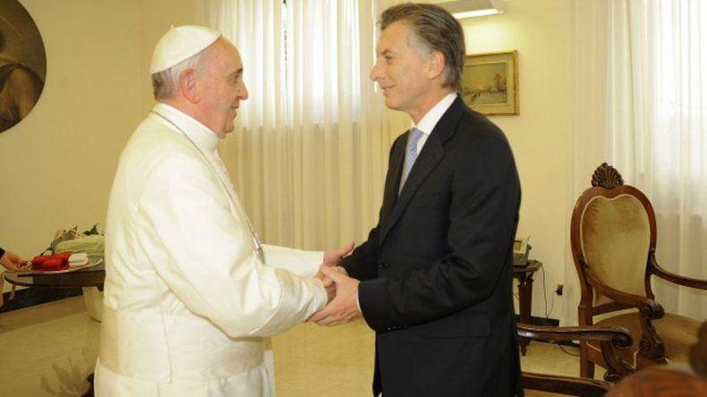 Francisco volverá a recibir a Macri en el Vaticano