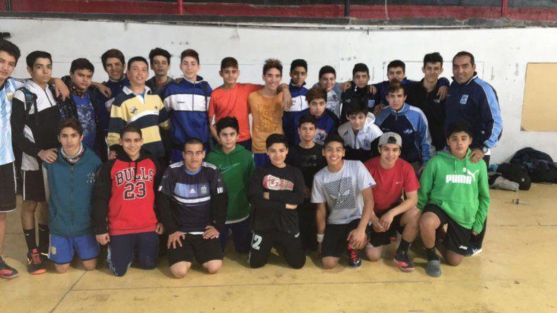 Selección de Chubut de menores varones.