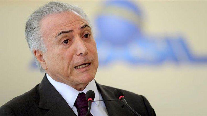 El presidente de Brasil anunció que avanza en un plan económico privatizador.