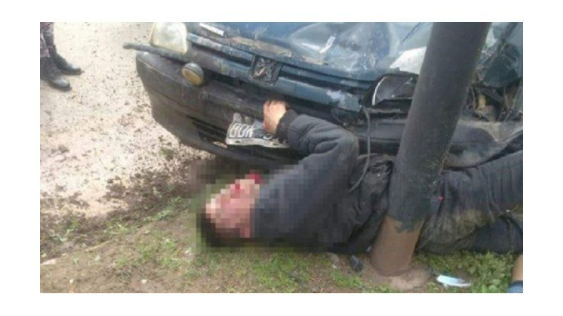 Carnicero persiguió, atropelló y mató a delincuente que le robó