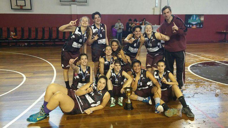 El equipo U17 femenino del club Federación Deportiva jugará las semifinales del Argentino en casa.