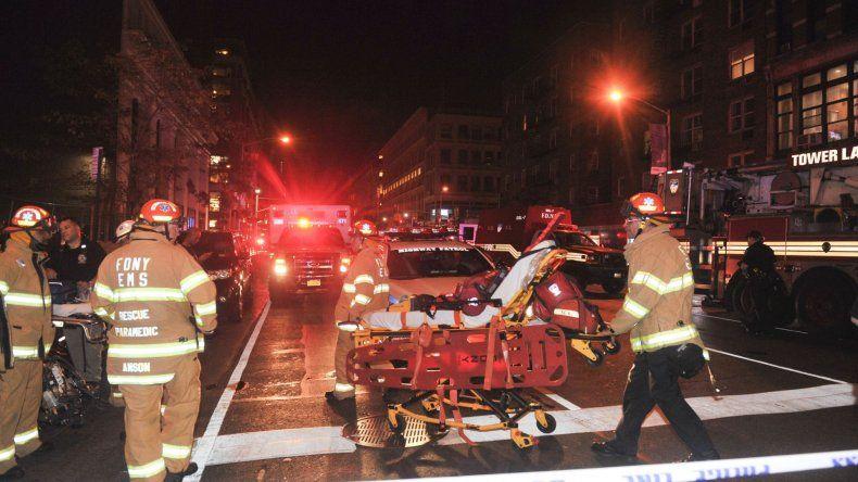 EXPLOSION EN NUEVA YORK