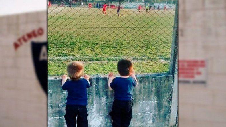 El amor más puro por el fútbol